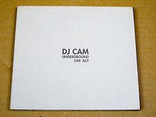 CD DJ Cam Underground Live Act (transmusicales Rennes 1995)