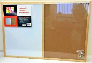 Magnetic Combo Noticeboard by AllSet 401271