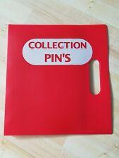 classeur pour pin's pins vide empty occasion lire annonce pour 162 pin