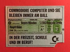 Fußball Eintrittskarte Ticket Bayern München - TJ DAC Dunajska Streda 88 ( 60196