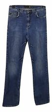 JUST CAVELLI Jeans Size 8 Blue L34in Designer Jeans Tall Casual Cotton Everyday