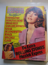 Muziek Express 5/80 Earth & Fire Stones Clash Uriah Heep Specials Dutch magazine