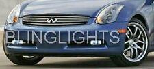 Hella Fog Lamps for 2003-2009 INFINITI G35 coupe/sedan lights 03 04 05 06 07 08