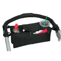 Novelty New Baby Stroller Parent Console Organizer Double Cup Holder Mummy Bag G