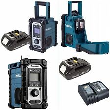 MAKITA RADIO dmr102 completo con Makita Litio battery+rapid 45 minuti CARICABATTERIE