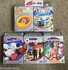 Hasbro Parker Spiele Klassiker Reisespiel Game Mega Set 5 Spiele