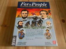 juego wargame - For the People - Guerra de Secesión - Devir GMT card driven game
