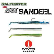 Berkley Flex Sandaal in 3 Farben + 1 VMC Darting Jig Head 100g 7/0