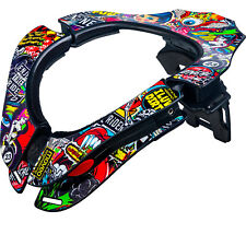 Oneal Tron Crank Motocross Neck Brace Support Race MX ATV CE Certified One Size