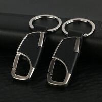 Auto Metall Schlüsselanhänger Schlüsselband mit Schlüsselring PU Leder Geschenk