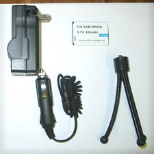 Accessory KIT Battery + Charger + Tripod for Samsung HMX-E10, HMX-E10BP