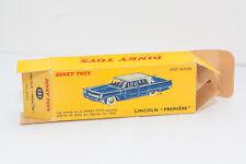 Dinky Toys Boite vide Lincoln Premiere Ref 532 No Solido No Corgi No Tekno