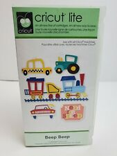 Cricut BEEP BEEP Cartridge - Vehicles Trains Cars Planes - Complete
