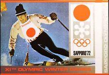 YAR NORTH YEMEN 1971 1456 A FOLDER GOLD Winter Olympics 1972 Sapporo MNH