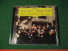Deutsche Grammophon CD Mozart Requiem Claudio Abbado