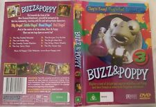 BUZZ & POPPY - 3 - CHILDRENS DVD - They're Young  they're Fun They're  Bugs  DVD