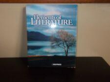 Bob Jones  Elements of Literature for Christian Schools Hardcover Textbook