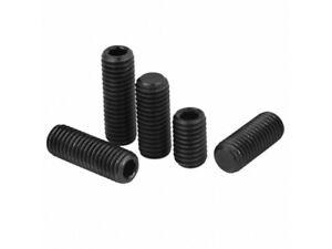 Metric Fine Pitch Black Socket Grub Screws High Tensile M8, M10, M12, M16