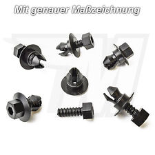 20x MODANATURE CARENATURA CLIP FISSAGGIO SUPPORTO AUDI VW 3c0-853-934