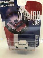 CHASE 1967 AUSTIN MINI COOPER S WHITE THE ITALIAN JOB 1/64 GREENLIGHT