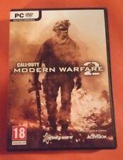 """PC DVD, """"  CALL OF DUTY MODERN WARFARE 2"""", COMPLETO, PERFETTO, ITALIANO (AQ)"""