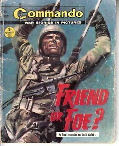 COMMANDO COMIC - No 500   FRIEND OR FOE?