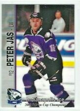2000-01 Indianapolis Ice (IHL) Peter Jas