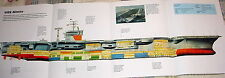 HUGE! USS NIMITZ NUCLEAR AIRCRAFT CARRIER POSTER picture print usn cvn 68
