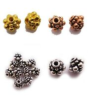 10 PCS 8MM BALI BEAD STERLING SILVER PLATED 139 T31-C15