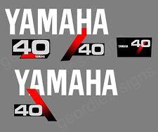 YAMAHA 1991-1999 - 40 moteur hors bord autocollant décalque kit moteur