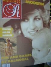 Royalty Magazine V8 #1 Diana /Royals & Paparazzi, Balmoral Games, Royal Mothers
