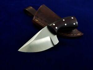 """5.2"""" SEO Handmade Full Tang 1095 High Carbon Steel EDC Combat Skinner Neck Knife"""