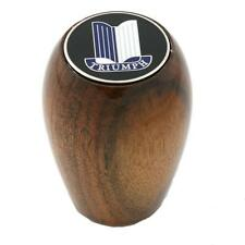 TRIUMPH HERALD & VITESSE WOOD GEAR SHIFT KNOB with TRIUMPH SHIELD