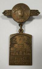 Insigne de Jury de l'Exposition Coloniale de Strasbourg 1924