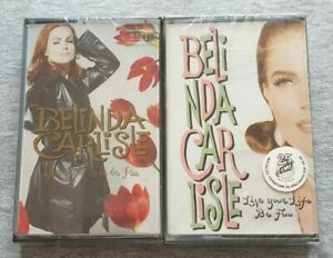 Belinda Carlisle ~ Live Your Life Be Free ( Malaysia Press ) Cassette
