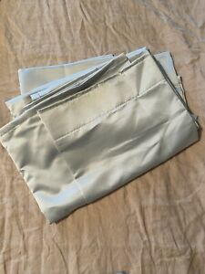New Ikea Blackout Curtain Liners Light Grey Glansnava (not in packaging)