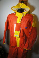Grundens 1pc Neptune 502 Full Commercial Fishing Rain Suit Coveralls Sailing p13