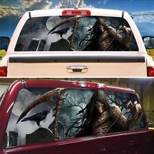 "22 X 65"" Truck SUV Jeep Rear Window Graphic Decal Vinyl Tint Sticker Grim Reaper"
