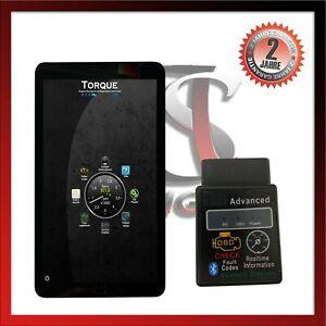 OBD2 KFZ Auto Bluetooth Diagnosegerät Android Handy PC Smartphone für Fiat