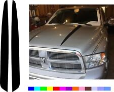 100% MADE IN USA for 2009-2018 DODGE RAM 1500 HOOD vinyl decal Stripe stickers