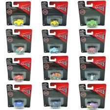 Mini Disney Pixar Cars 3 Lightning Mcqueen Cruz Jackson Storm Metal Toy Car Box