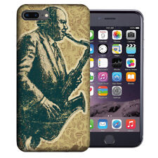 MUNDAZE Apple iPhone 7 & 8 Plus Design Case - Vintage Jazz Saxophone Cover