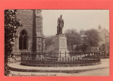 James Montgomery Monument Poet Sheffield Nr Cathedral RP pc unused JWM Ref S240