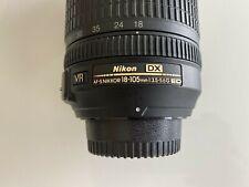 Nikon AF-S DX NIKKOR 18-105mm f/3.5-5.6G ED VR Lens SN US36338868