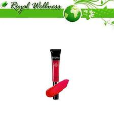 Productos de maquillaje rojo lápiz para labios