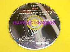 AUDI NAVIGATION DVD MAP CD GPS NAV DISC CD 2 NORTHWEST SOUTHWEST ZBW D02 DCA 02