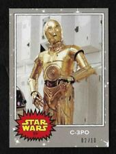 C-3PO Star Wars Sci-Fi Collectable Trading Cards
