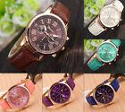 Hot Geneva Women's  Watch Stainless Steel Band Quartz Wrist Watches 2016