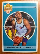Carte basketball cards Panini 1994 Olympique Antibes SNB #7 Georges Montgomery