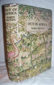 Karen Blixen  OUT OF AFRICA  First Edition  Isak Dinesen  SIGNED Thomas Dinesen